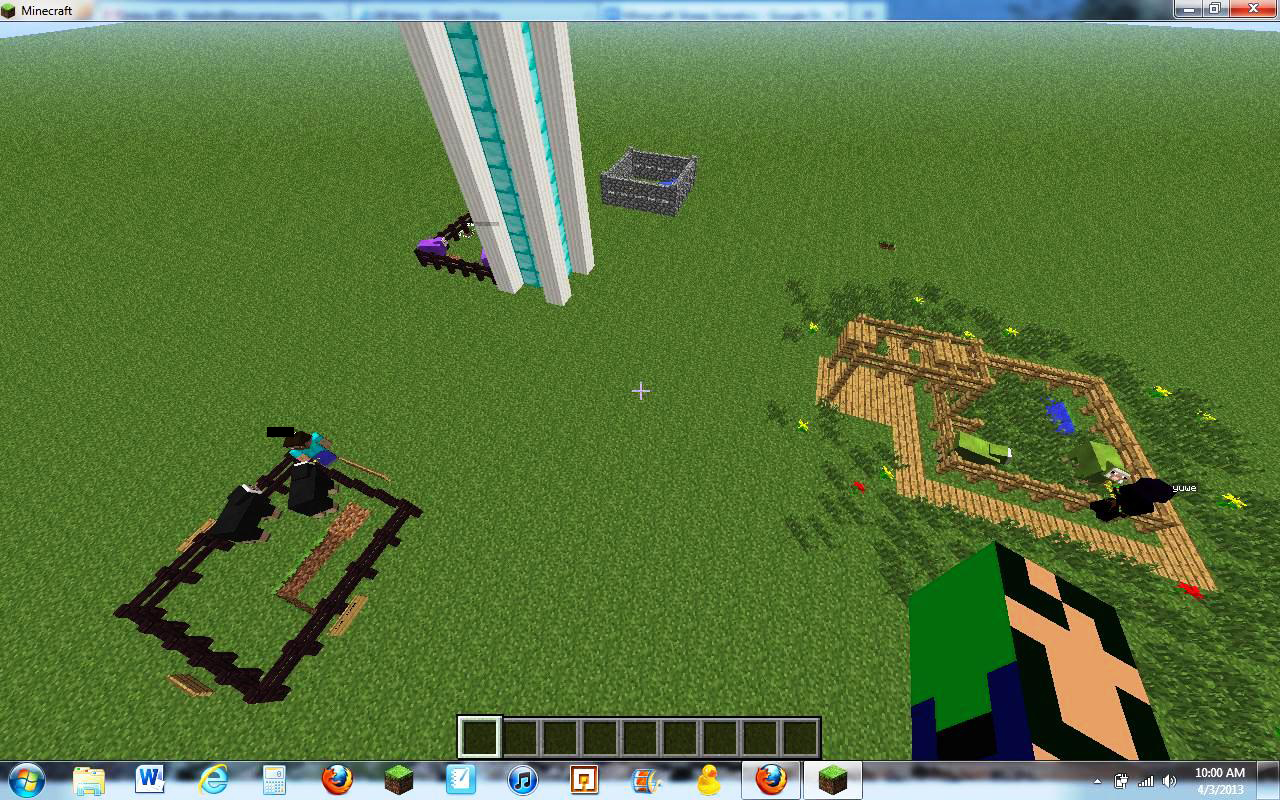 how to build a sheep pen in minecraft